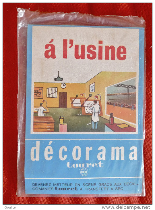 Decorama Touret - A L´usine - Decalcomanie - Autres