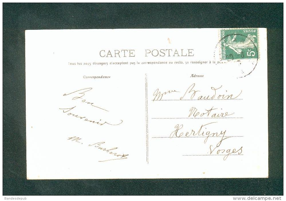 Fontenoy Le Chateau (88) - Vue Generale Prise De Moulin Brulé ( éditeur Peu Lisible) - France