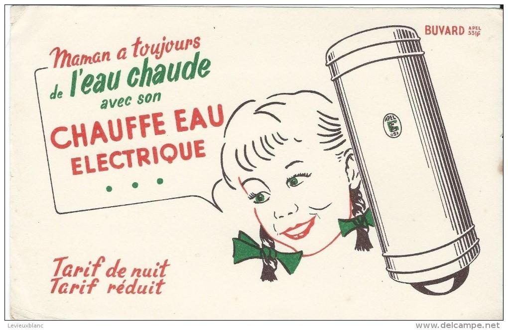 Chauffe Eau électrique/Maman A Toujours De L'eau Chaude /Vers 1950   BUV161 - Electricité & Gaz