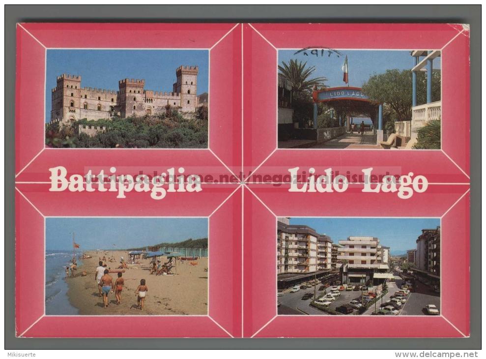 T6839 BATTIPAGLIA Salerno LIDO LAGO VG (m) - Battipaglia