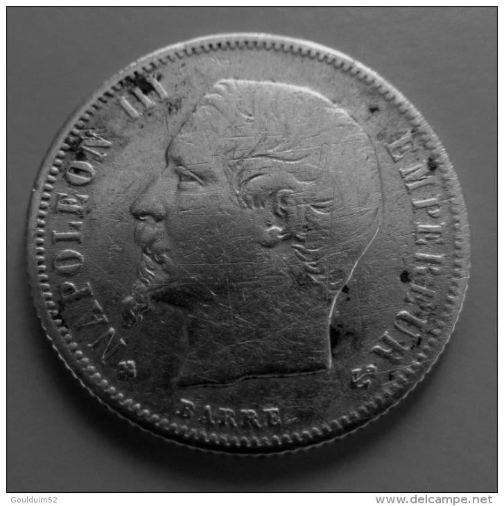 50 Centimes 1860 BB - G. 50 Centesimi