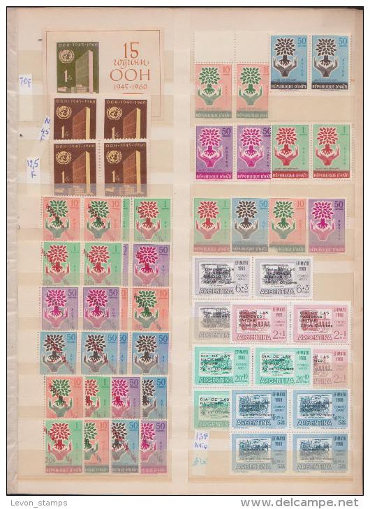 Refugees, United Nations, Expositions,Different Countries,56st.,1bloc,MNH . - Sammlungen (ohne Album)