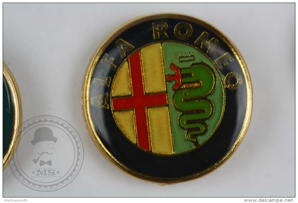 Alfa Romeo Car Logo - Pin Badge #PLS - Alfa Romeo