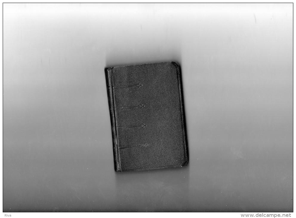 Petit Livre  De 10 Sur 7 Cm Avec 390 Pages ((Der Geheiligte Tag Der Christen )) - Christianisme