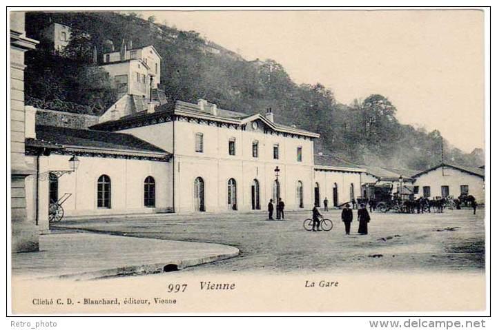 Vienne - La Gare - Vienne