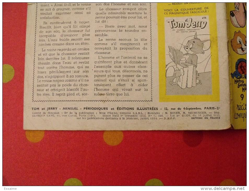 Tom Et Jerry N° 13. Mensuel. 1954. PEI Paris - Magazines Et Périodiques