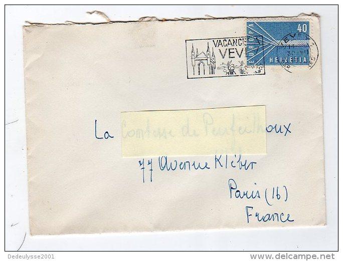 Oct14     66114     Lettre Avec Timbre  Suisse   Europa - Poststempel