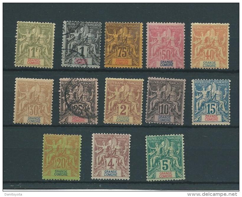 COLONIA FRANCESA-GRAN COMORES - Stamps