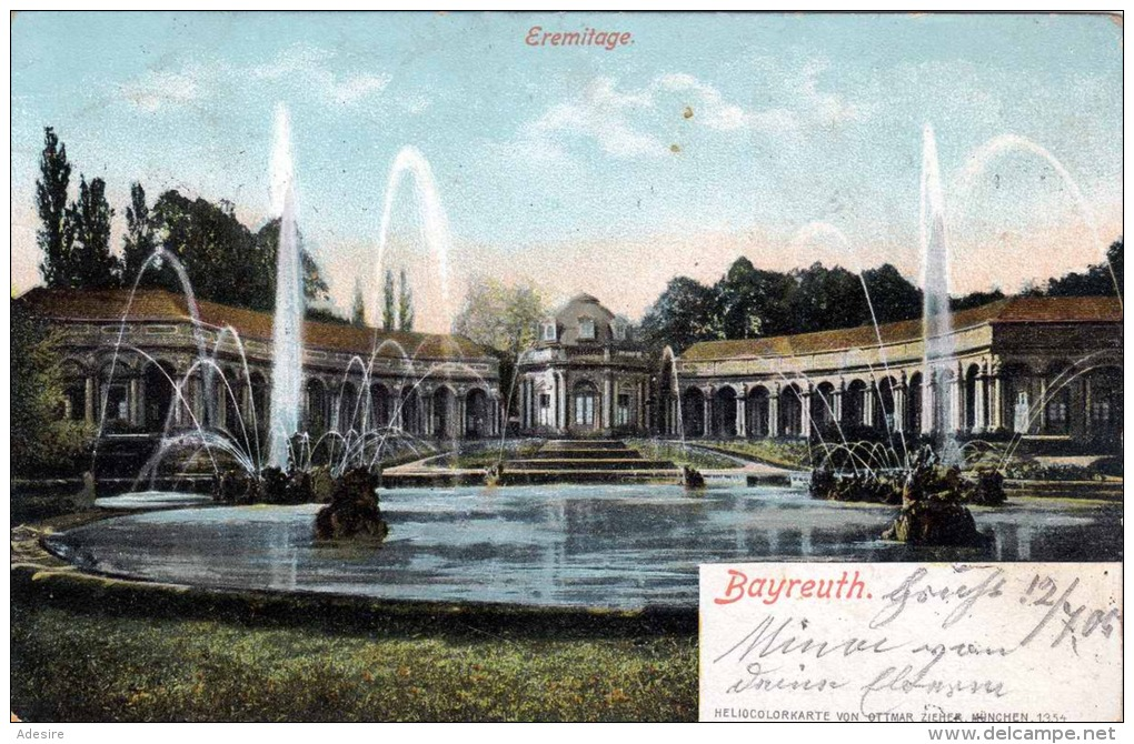 BAYREUTH - Eremitage, 1906 - Bayreuth