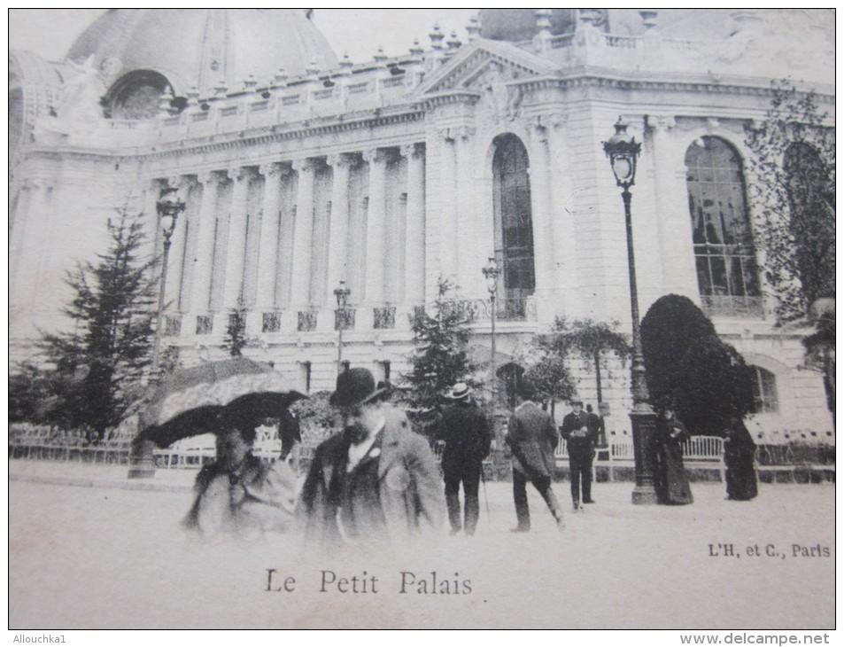 CPA  Précurseur -->exposition Internationale De 1900 à Paris--Le Petit Palais--> Théme Bilan D'un Siécle - Expositions
