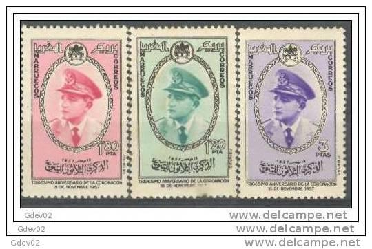 MARI27-L2868TM.Maroc Marocco MARRUECOS REINO INDEPENDIENTE.1957. (Ed 27/9**)sin Charnela.MUY BONITA - Marruecos (1956-...)