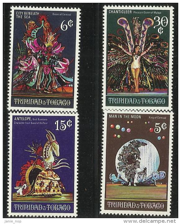 Trinidad & Tobago 1970 Carnival MNH - Trinidad & Tobago (1962-...)