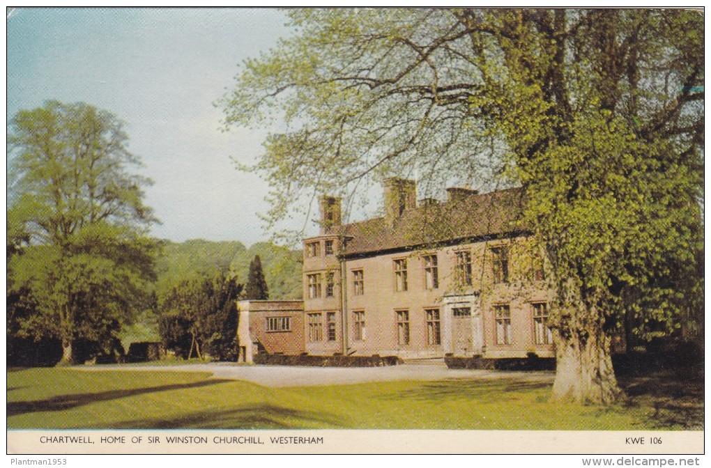 Chartwell,Home Of Sir Winston Churchill,Westerham,Kent.S24 - England