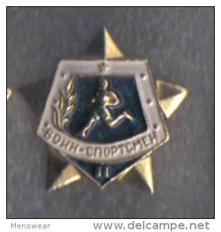 RUSSIA -  SPORTS BADGE -  USSR -  GOOD - 1986 - Russia
