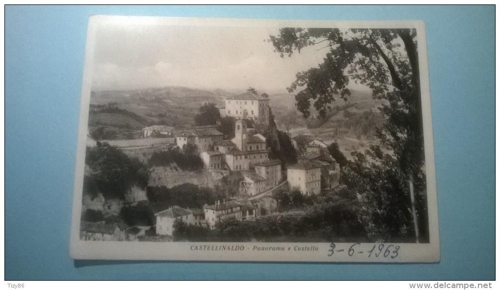 Castellinaldo - Panorama E Castello - Cuneo