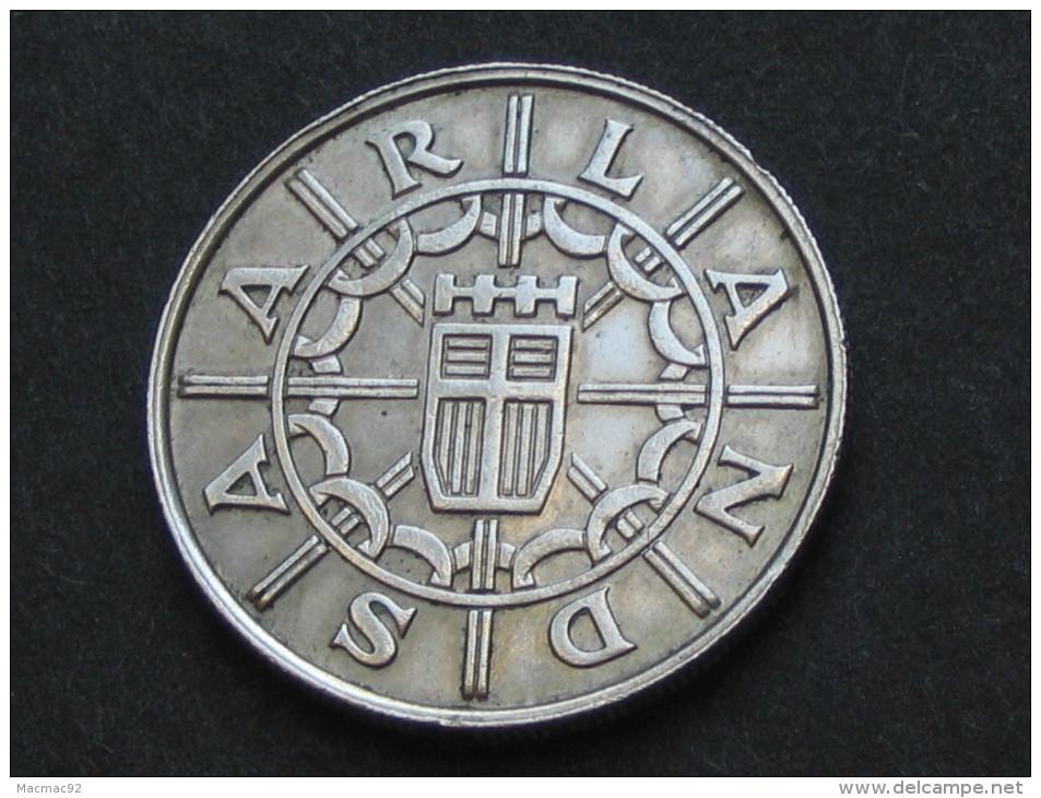100 Einhundert Franken 1955 - SARRE  **** EN ACHAT IMMEDIAT ***** - Saar