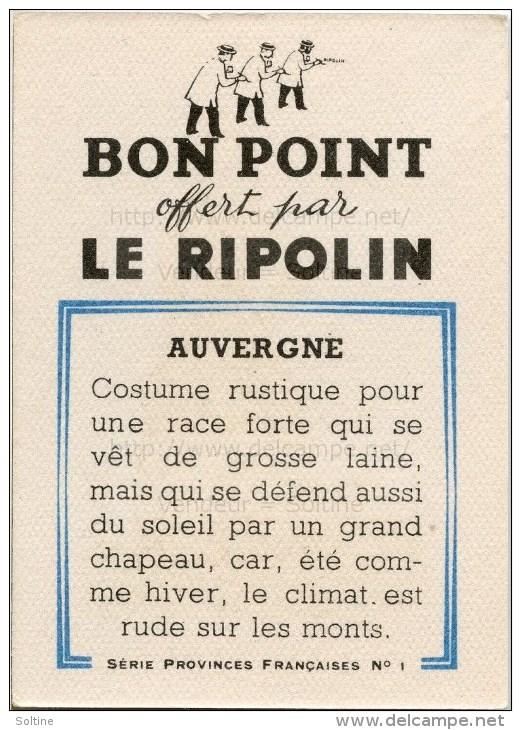 Bon Point Offert Par Le Ripolin - Provinces Françaises : L´Auvergne - Autres