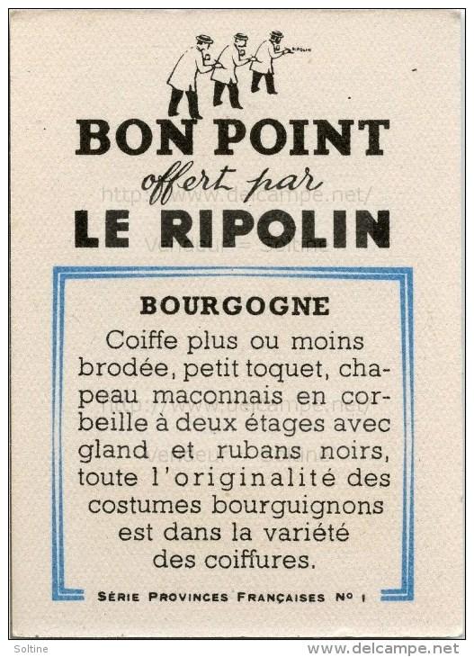 Bon Point Offert Par Le Ripolin - Provinces Françaises : La Bourgogne - Autres