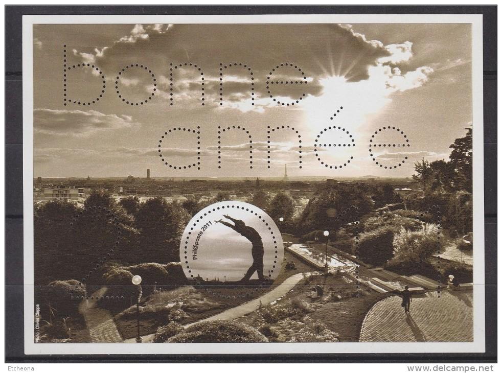 = Bonne Année 2011 De Phil@poste, Bloc Gommé, - Blocs & Feuillets