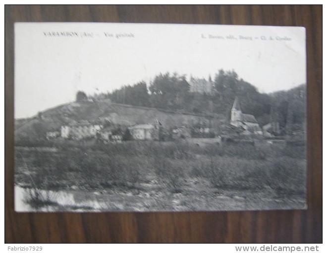 CF2 FRANCIA FRANCE 1907 VARAMBON AIN VIUE GENERALE VEDUTA COLLINA CHIESA CASTELLO X VARALLO SESIA - France