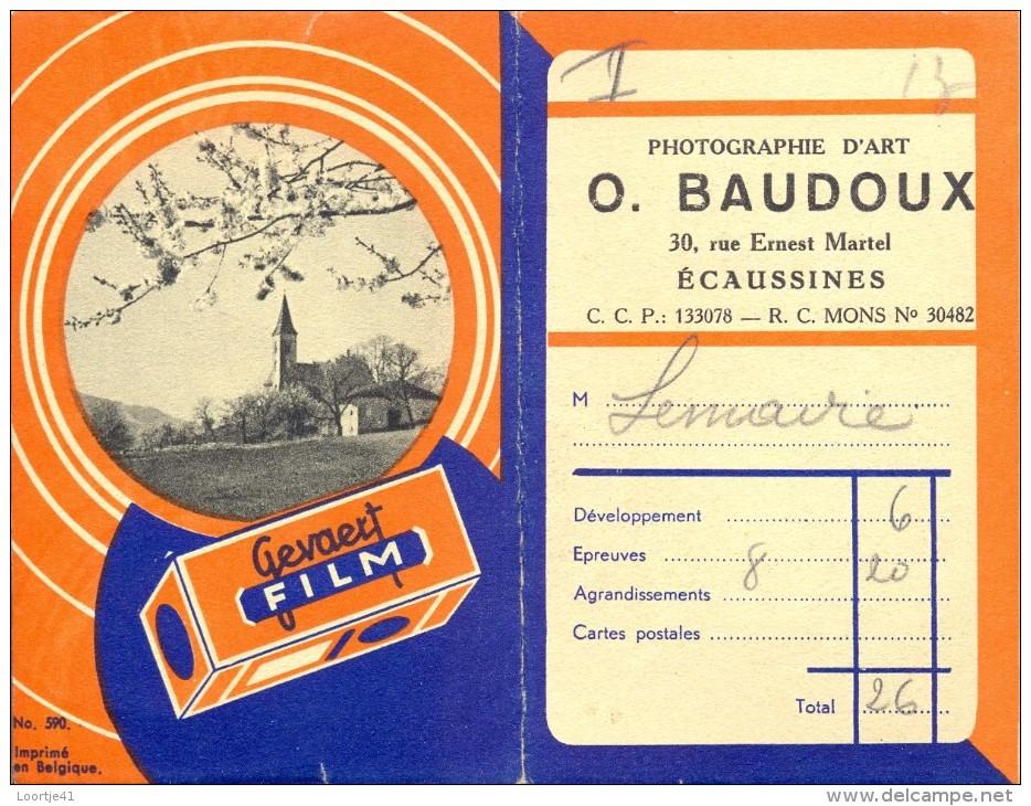 Carnet Photo - Etui Foto - Photographie  Baudoux Ecaussines - Fotografie En Filmapparatuur