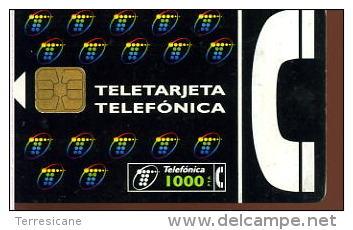 TELETARJETA  TELEFONICA 1000 Télécarte Phonecard Telefonkart TEMATICA TELEFONO - Telefoni