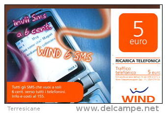 X WIND RICARICA Télécarte Phonecard Telefonkart TEMATICA TELEFONI - Telefoni