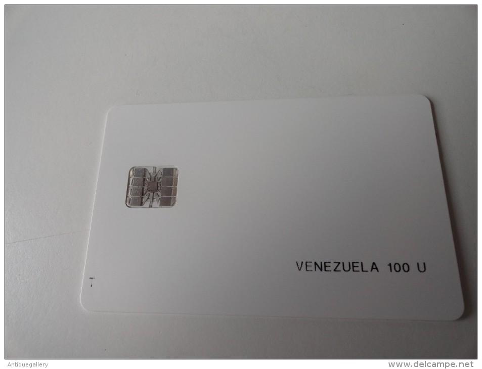 RARE : VENEZUELA  TEST CARD - Venezuela