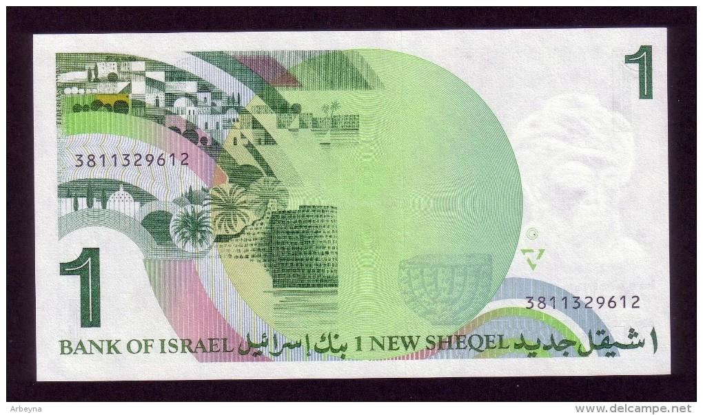 Israel - 1 New Shequel - 1986 - P51 - UNC - Israel