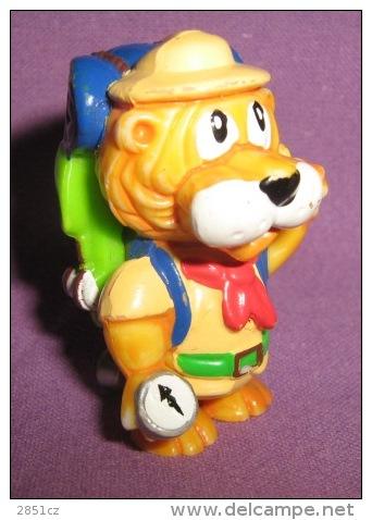 Figurines - Kinder - Ferrero - Lion, 1993. - Katten