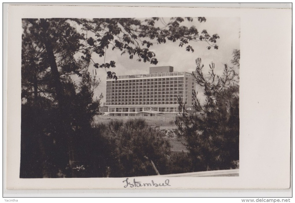 "Turkey Turquie Türkiye Postcard Istambul ""Hilton Hotel"" - Turquia"
