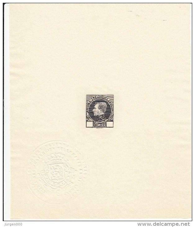 Nr 289/293, In Mininstervel + Ministervel Zonder Waardeaanduiding, PRACHTSTAAT !!! - 1929-1941 Groot Montenez