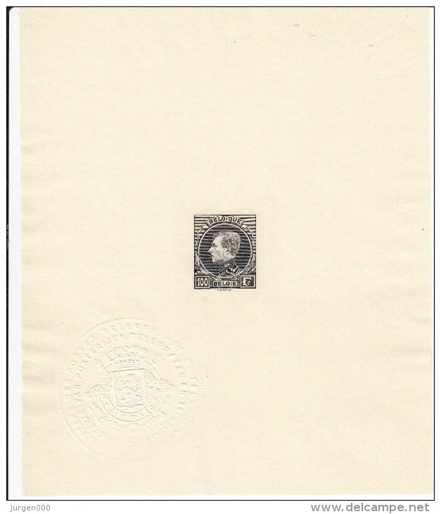 Nr 289/293, In Mininstervel + Ministervel Zonder Waardeaanduiding, PRACHTSTAAT !!! - 1929-1941 Grand Montenez