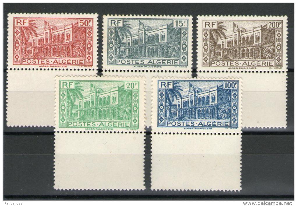N°200** à 204**_ Petit Défaut De Gomme_bord De Feuille - Unused Stamps