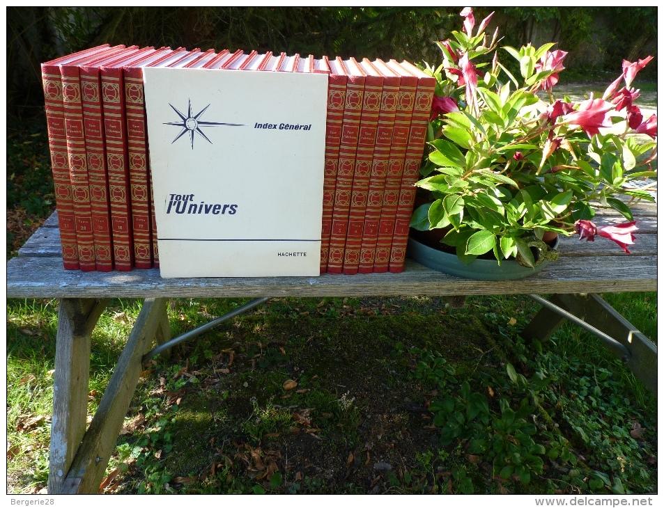 ENCYCLOPÉDIE TOUT L´UNIVERS 1969 SÉRIE COMPLÈTE + INDEX - Encyclopédies