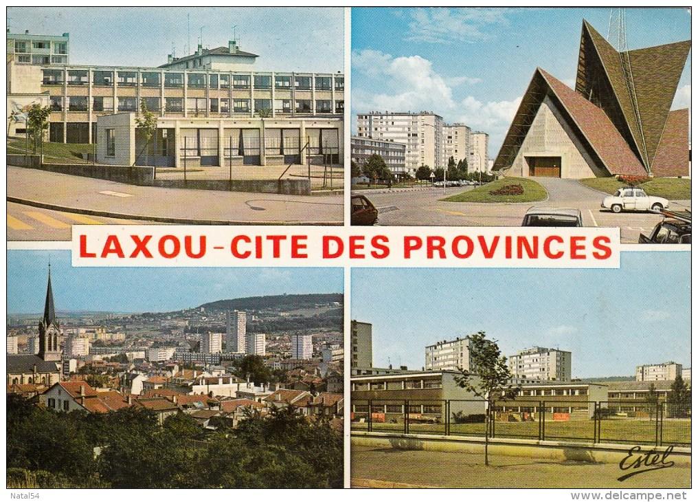 54 - Laxou - Cité Des Provinces : Multivues - CPM écrite - Frankrijk
