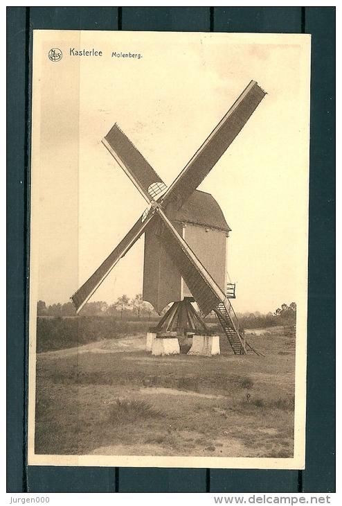 KASTERLEE: Molenberg, Gelopen Postkaart 1943 (Uitg Beersmans) (GA19558) - Kasterlee