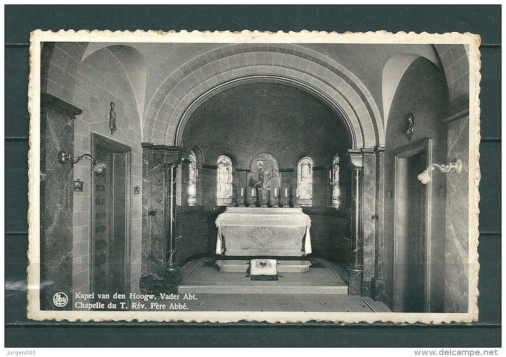 WESTMALLE: Kapel Van De Hoogw.Vader Abt., Niet Gelopen Postkaart (Uitg Thill) (GA20197) - Malle