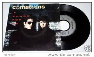 """COMATEENS : A Place For Me / Ghosts 7"""" 45 SP France - Rock"""