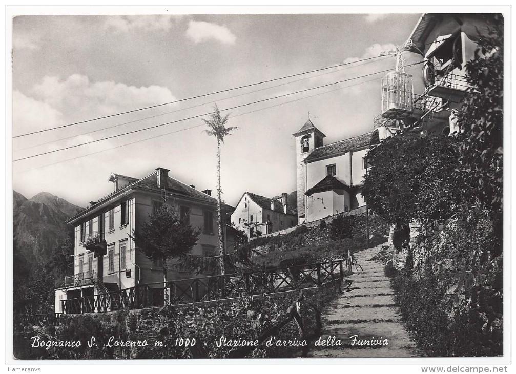 Bognanco San Lorenzo - Stazione D'arrivo Della Funivia - H666 - Verbania