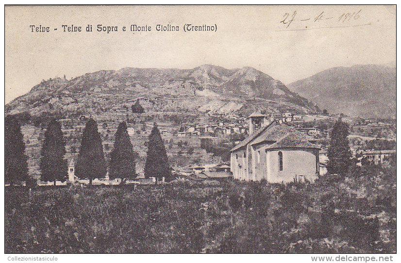 3-3478- Telve - Telve Di Sopra E Monte Ciolina - Trento  - F.p. Non Viaggiata - Trento