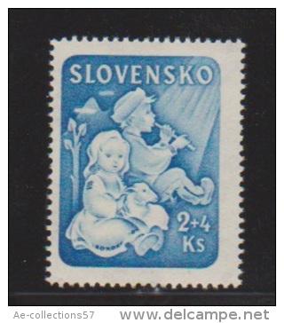 Slovaquie //  N 117  //  2 K + 4 K Bleu  //  NEUF ** - Unused Stamps