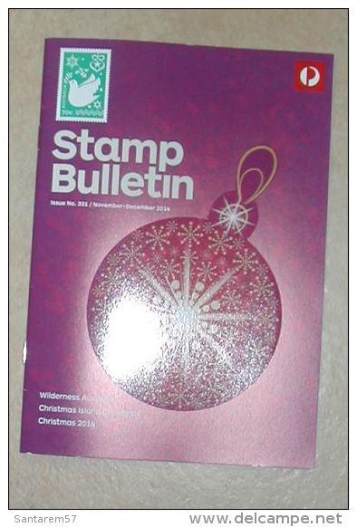 Catalogue N° 331 Stamp Bulletin Australia Post Novembre Décembre 2014 - Englisch