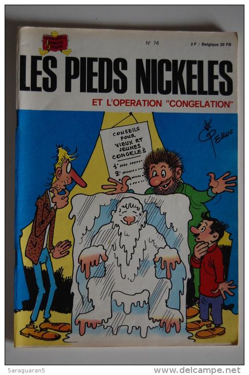 BD LES PIEDS NICKELES ET L´OPERATION CONGELATION - 74 - TBE - EO - Pieds Nickelés, Les