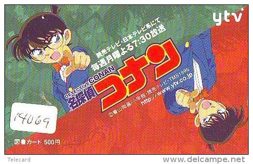 Télécarte MANGA Japon * DETECTIVE CONAN * (14.069) ANIMATE * Animé * Japan Phonecard Telefonkarte * CINEMA MOVIE - Cinema