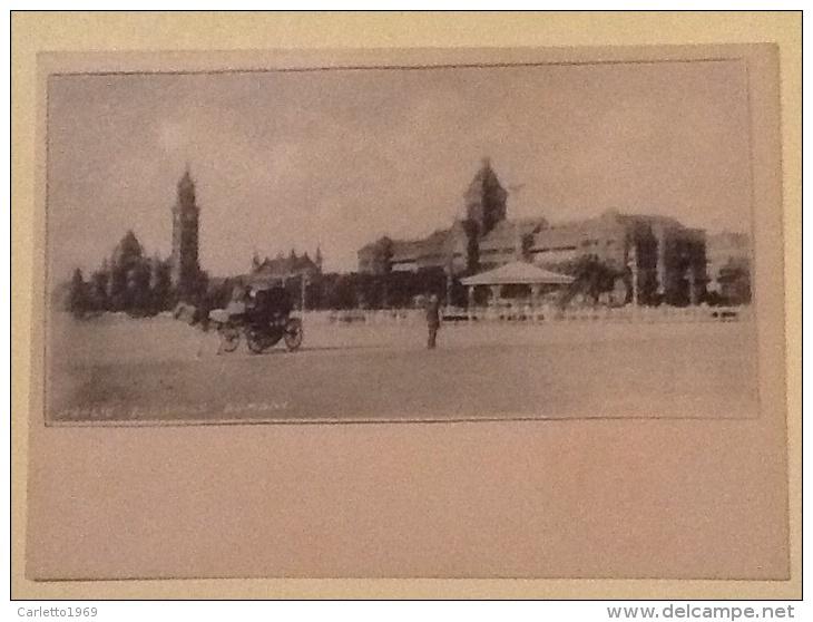 COLLEZIONE CLIFTON & CO  PUBLIC BUILDING BOMBAY  NON VIAGGIATA - India