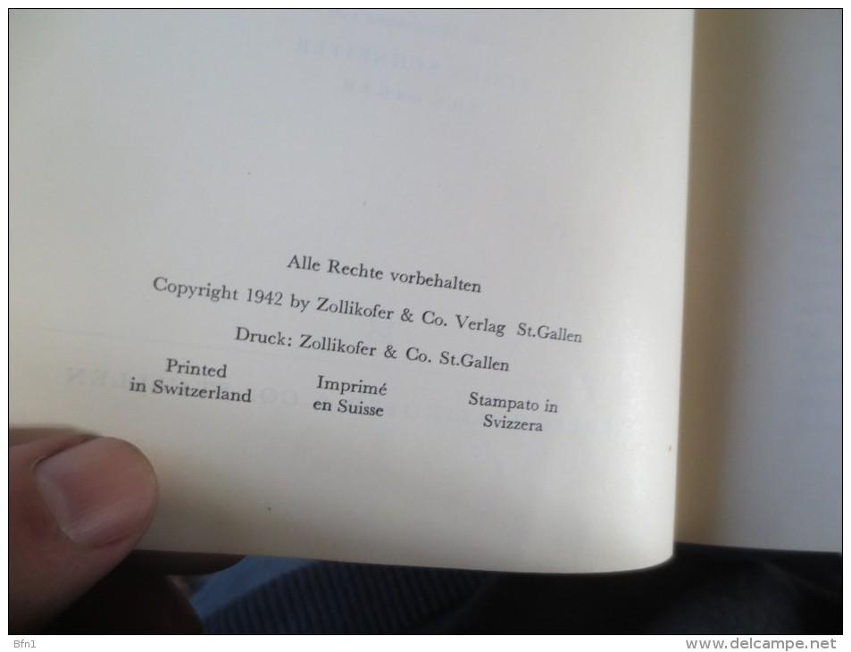 Robert  Mader  -1942-  Fahnen Und Farben Der Schweizerischen Eidgenossenschaft Und Der Kantone. VOIR PHOTOS - Lexiques