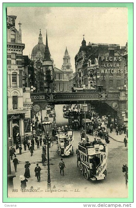 LONDON - Ludgate Circus - London
