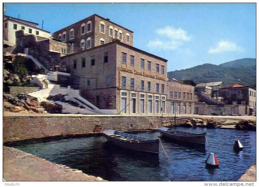Hydra - School Of The Merchant Navy - 7 - Formato Grande Non Viaggiata - Grecia