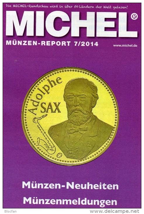 Briefmarken Rundschau MICHEL 7/2014 Neu 6€ New Stamps Of The World Catalogue And Magacine Of Germany ISBN4 194371 105009 - German